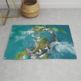 Earth Turtle Rug