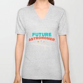 Astronomy Science Unisex V-Neck