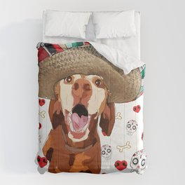 Cinco de Vizsla Dog Comforters