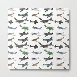 Multiple WW2 Airplanes Metal Print