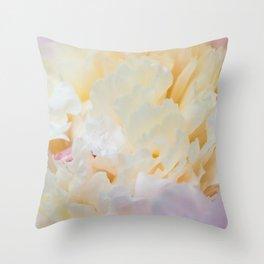 Lush Peony Throw Pillow