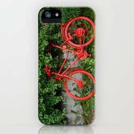 Ride Red iPhone Case