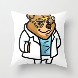 chemistry chemist gift substances substances funny Throw Pillow