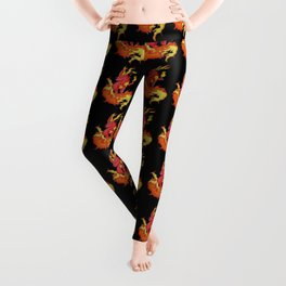 Ablaze Carbuncle Leggings