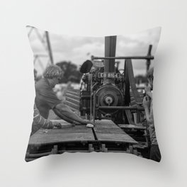 Stenner Bench Throw Pillow