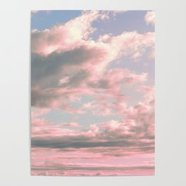 Delicate Sky Poster