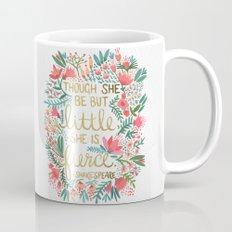 Little & Fierce Coffee Mug