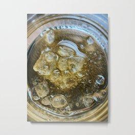 Sauce on the Rocks Metal Print