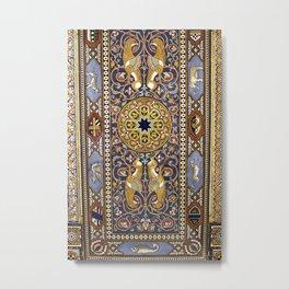 SICILIAN ART DECO Metal Print