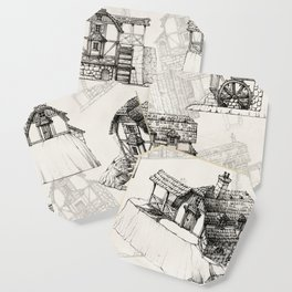 Concept watermill Coaster