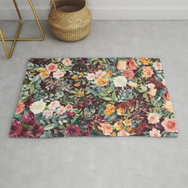 Fall Floral Rug