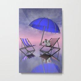 umbrella time -02- Metal Print
