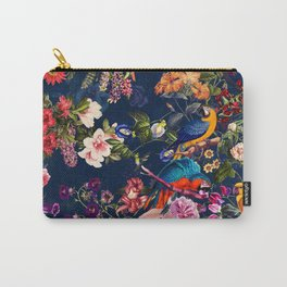 FLORAL AND BIRDS XII Carry-All Pouch