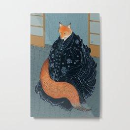 The Fox's Wedding Metal Print