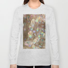 Unicorn Horn Aura Crystals Long Sleeve T-shirt