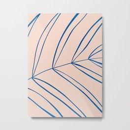 Palm Leaf // Summer Islands Metal Print