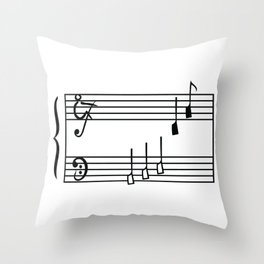 Rowing & Music1 Throw Pillow