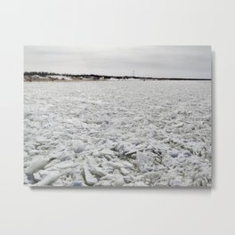 Ice field Metal Print