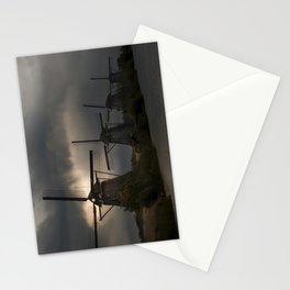 Dutch Windmills in Kinderdjik Stationery Cards