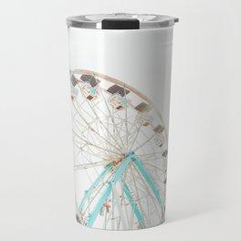 Ferris Wheel Abstract Travel Mug