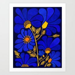 Wildflower Garden Kunstdrucke