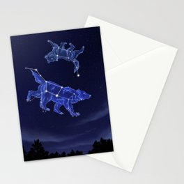 Momma's Always Watching Stationery Cards