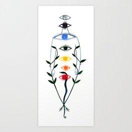 Chakra Energy Art Print
