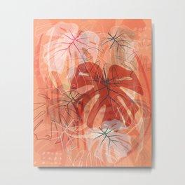 Flower bomb Metal Print