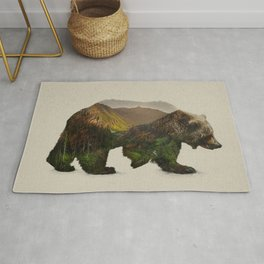 North American Brown Bear Rug