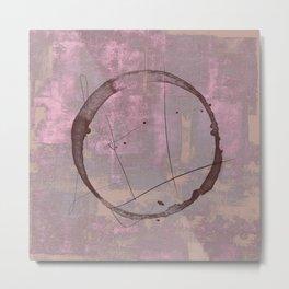 Circle stain #65 Metal Print