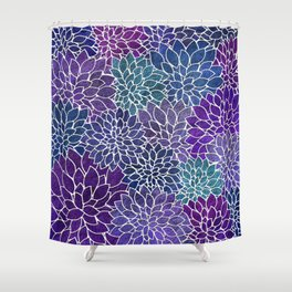 Floral Abstract 22 Shower Curtain