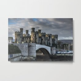 Conwy Castle, North Wales Metal Print