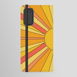 Sun rays Android Wallet Case