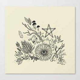 Magic Altar Canvas Print