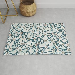 Conversations in Mint Rug