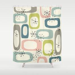 Mid Century Modern Shapes #society6 #buyart Shower Curtain