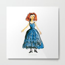Princess 3 Metal Print