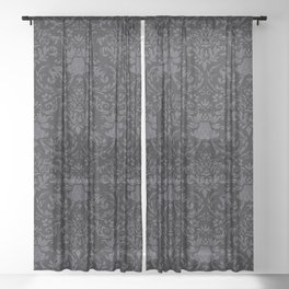 Victorian Gothic Sheer Curtain