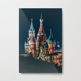 St. Basil's Cathedral | Barma e Postnik Architects Metal Print