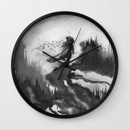 """""""Lament"""" Wall Clock"""