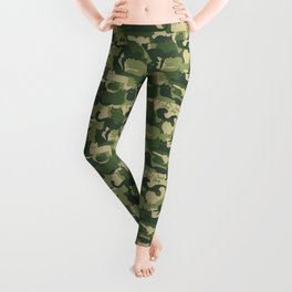 Camouflage Cats Leggings
