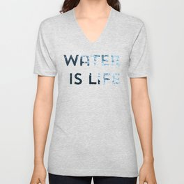 I Stand With Standing Rock Unisex V-Neck