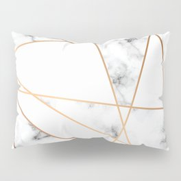 Marble Geometry 054 Pillow Sham