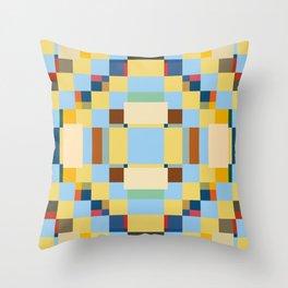 Trendy Geometric Minimal Singa Throw Pillow