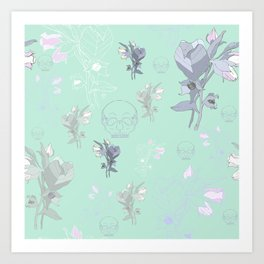 Belladonna in Pastel Art Print