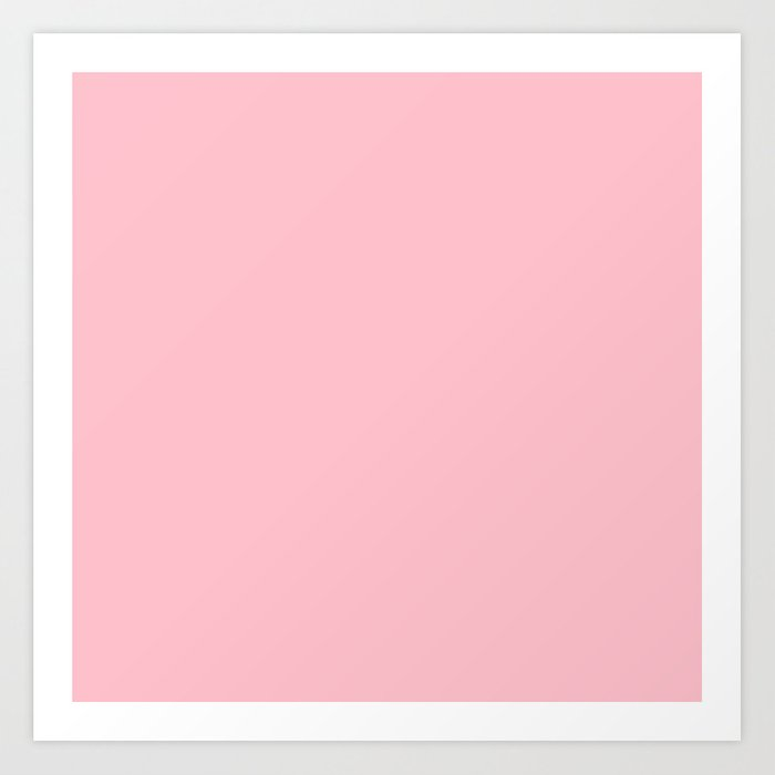 Bubble Gum Pink Kunstdrucke