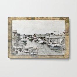 Fish Town Metal Print