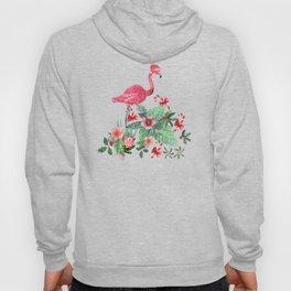 Santa Flamingo Santa Christmas // Holidays Hoody
