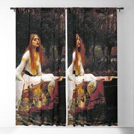 John William Waterhouse - The Lady of Shalott Blackout Curtain