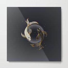 Fade Away - Illustration Metal Print
